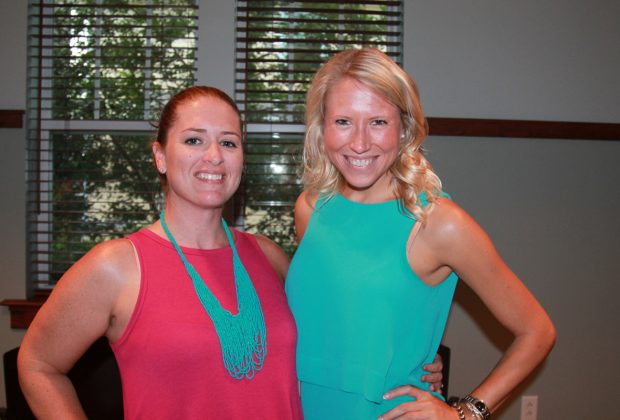 Courtney Snoap and Mariah Verseput,  Shircliff Society board president