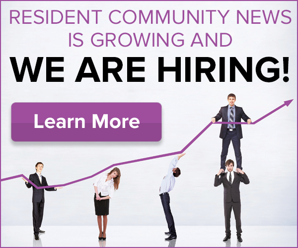 Resident Community News Is Hiring