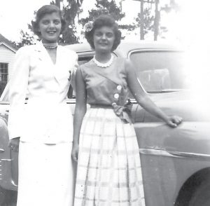 Mary and sister Ethel