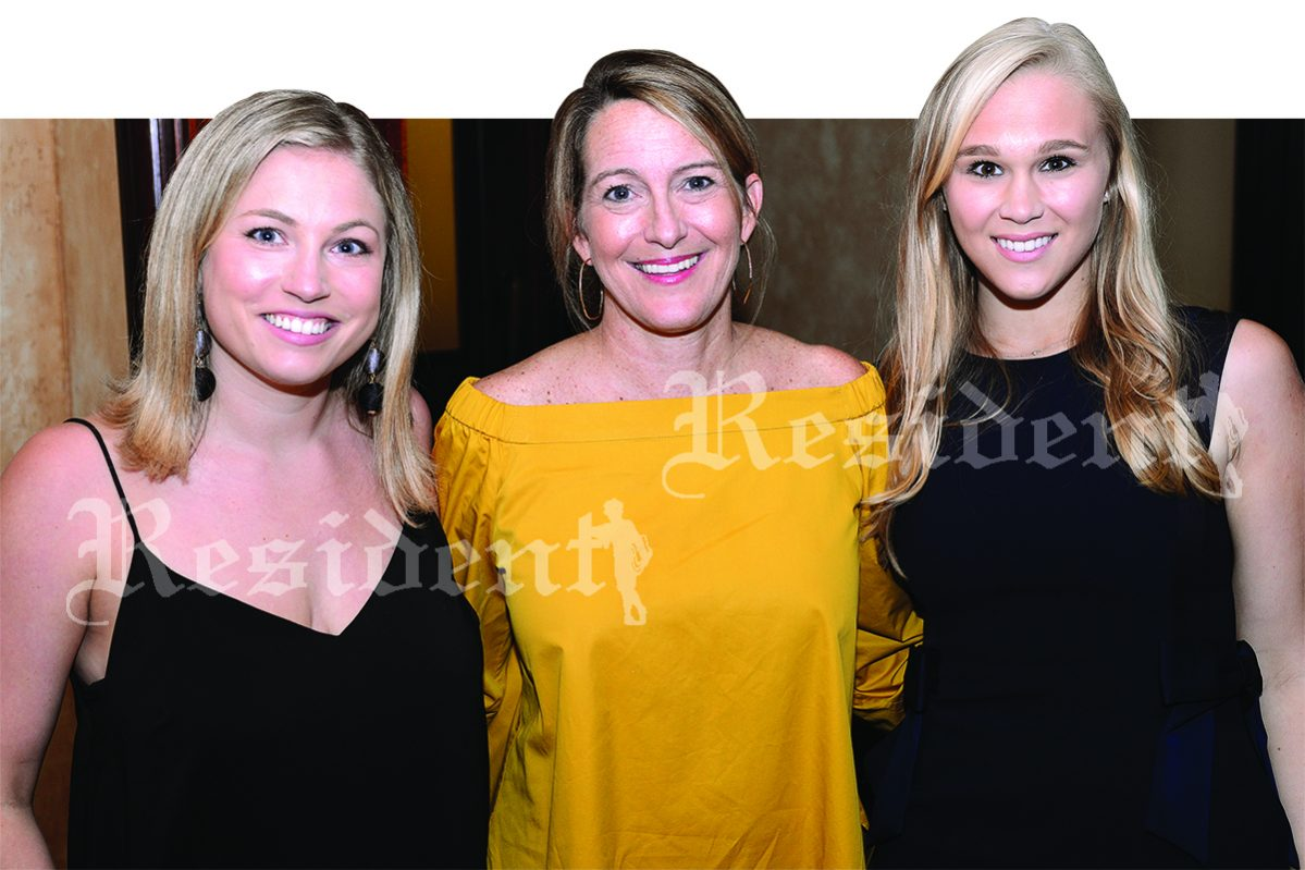 Elizabeth Millsaps, artist and author Anne Neilson and Claire Weigel