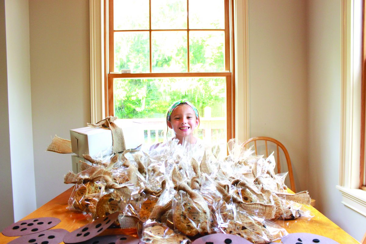 Third-grade student sends over $1,500 to Texas Diaper Bank