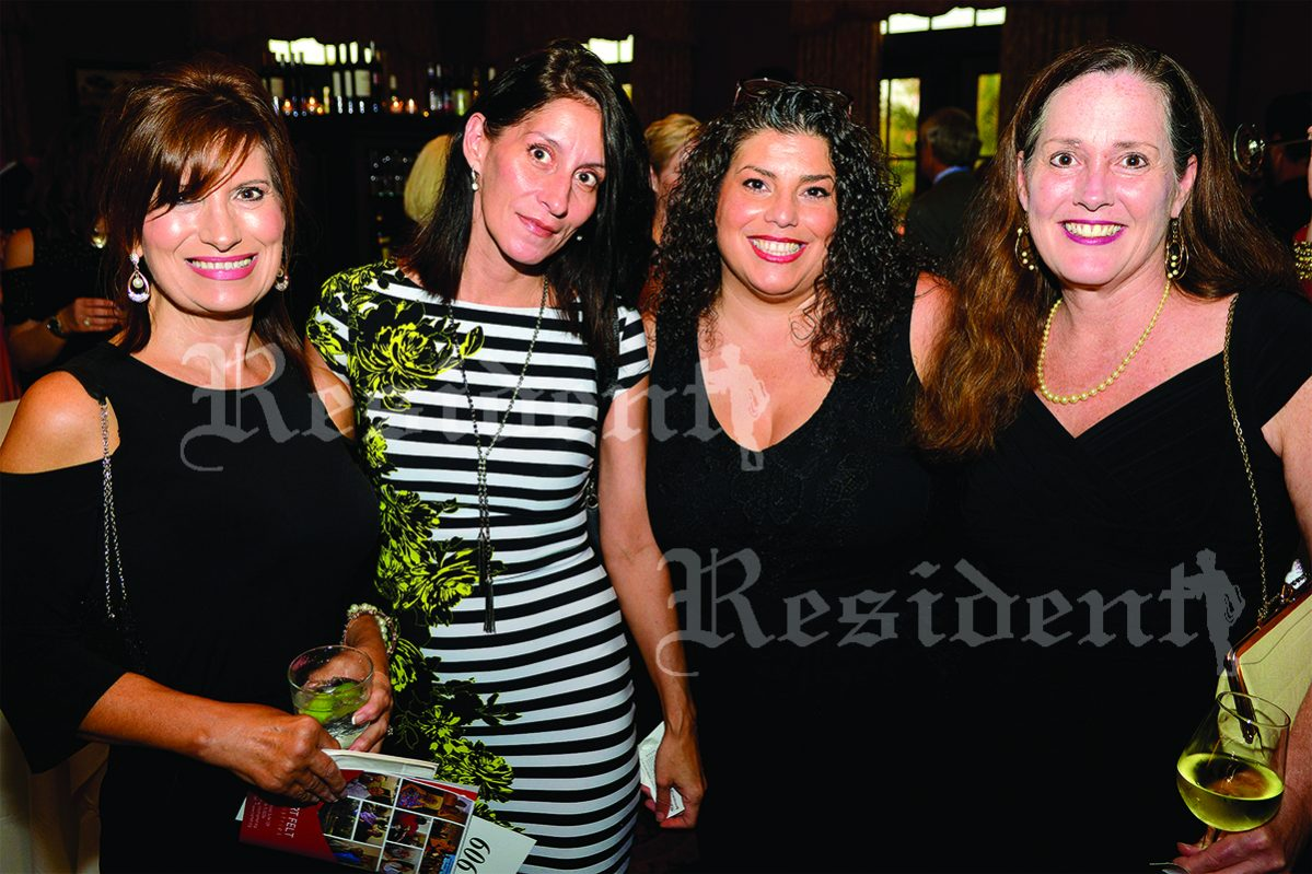 Traci Talley with Vivian Gardner, Dina Favale and Kari Bell
