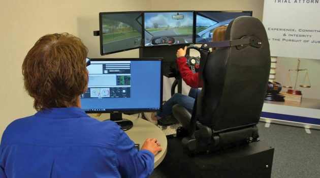Wolfson students gain driving experience through virtual technology