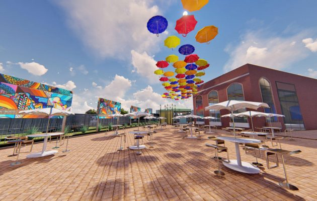 Artistic 'outdoor living room' coming to San Marco