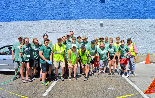 SUMC teens help to set Guinness car wash world record