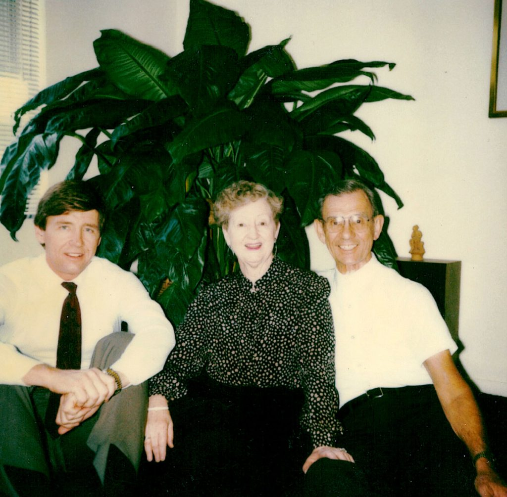 Randy Jr., Libby and Randy Sr.