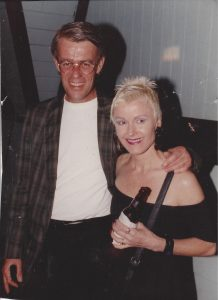 Tom McCleery and Gunnel Humphreys, late 1980s