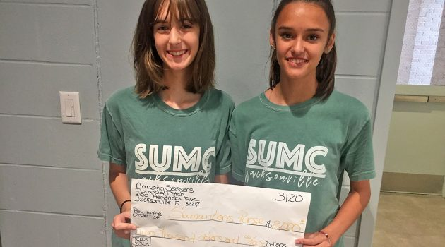 San Marco teens donate mission money to hurricane relief