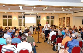 Residents share concerns during DeFoor Town Hall