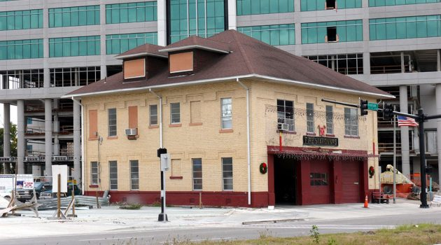 Historic fire station  on path to demolition
