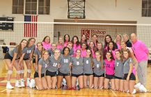 Pink Out volleyball tradition continues for Bishop Kenny, Bolles