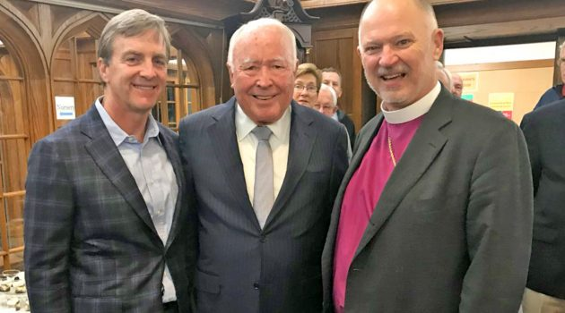 St. John's Cathedral honors long-time Chancellor