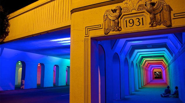 Public artwork made of lights could transform Murray Hill/Avondale overpass