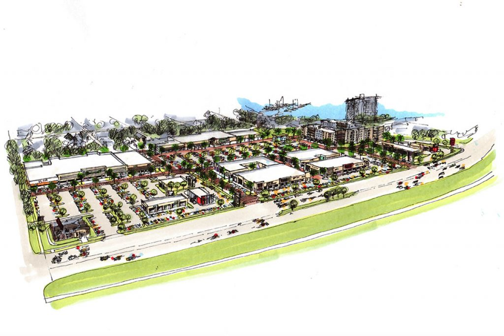 Overview of the Ortega Park project.