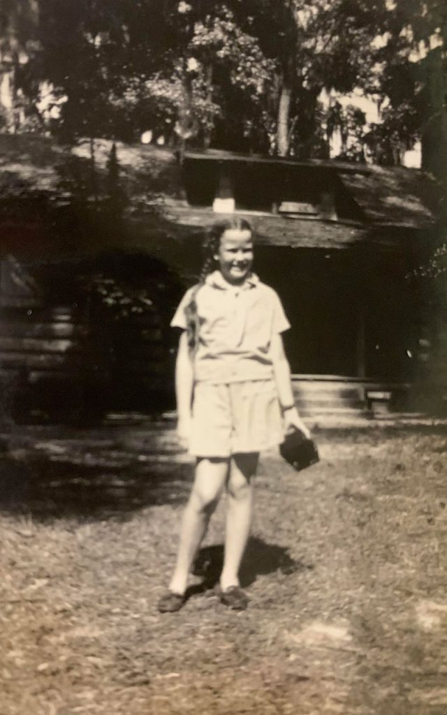 Sissy at Camp Chowenwaw, Green Cove Springs